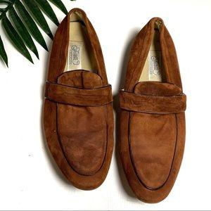 Fratelli Footwear Suede Loafers Men's 11